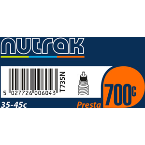700 x 35 - 45C Presta inner tube