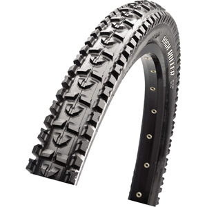 Maxxis High Roller II 27.5x2.40 60 TPI Folding Single Compound SilkShield / eBike tyre Black