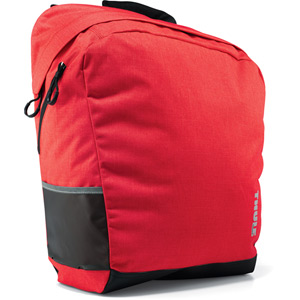 Pack'n Pedal shopping tote pannier 23.5 litre red