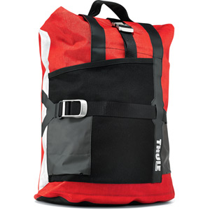 Pack'n Pedal commuter pannier universal red