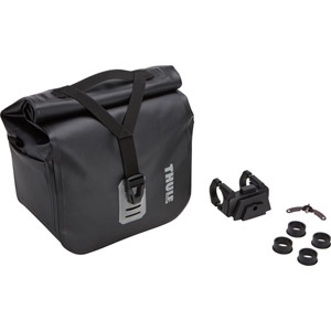 Pack'n Pedal shield handlebar bag with mount, 7.5 litre