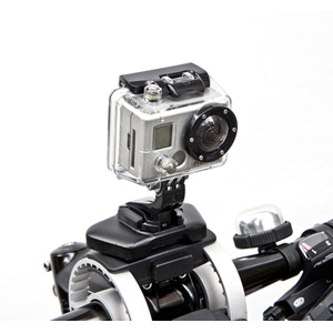 Pack'n Pedal action camera mount
