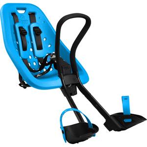 Thule Yepp Mini front seat, stem mount, blue