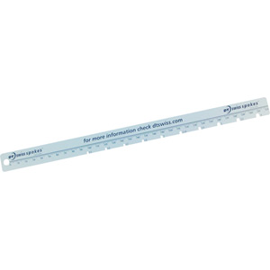 Proline spoke ruler