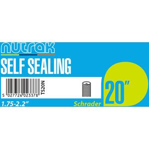20 x 1.75 - 2.125 inch Schrader - self-sealing inner tube