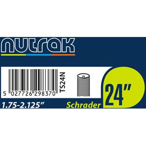 24 x 1.75 - 2.125 inch Schrader - self-sealing inner tube