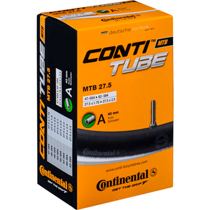 Continental MTB Light 27.5 x 1.75 - 2.4 inch 42mm Presta valve Inner Tube black