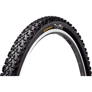 Continental Traffic 26 x 2.1 inch black tyre black