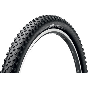 "Continental X-King 27.5 x 2.2"" Black Tyre black"