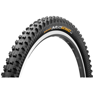 "Continental Mud King Protection 26 x 1.8"" Black Chili Folding Tyre black"