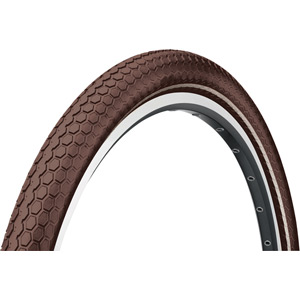 Continental Retro Ride Reflex 700 x 50C Brown Tyre brown