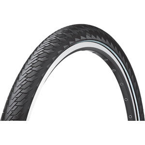 "Continental Cruise Contact Reflex 28 x 2.0"" Black Tyre black"