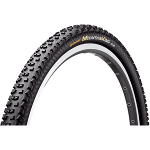 "Continental Mountain King II ProTection 26 x 2.2"" Black Chili Folding Tyre black"