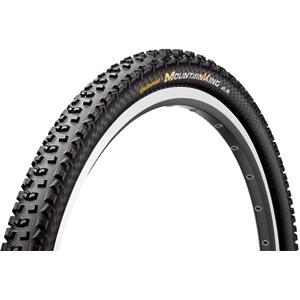 "Continental Mountain King II ProTection 26 x 2.2"" Black Chili Folding Tyre black"