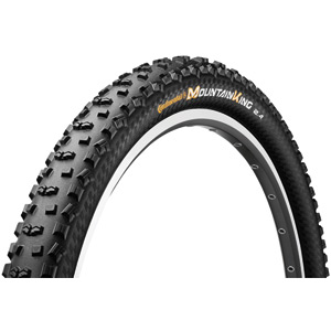 "Continental Mountain King II ProTection 29 x 2.2"" Black Chili Folding Tyre black"