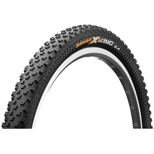"Continental X-King ProTection 27.5 x 2.4"" Black Chili Folding Tyre black"