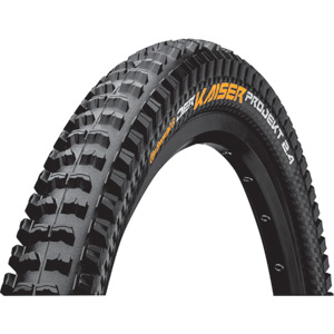 "Continental Der Kaiser Projekt 26 x 2.4"" ProTection Apex Black Chili Tyre black"