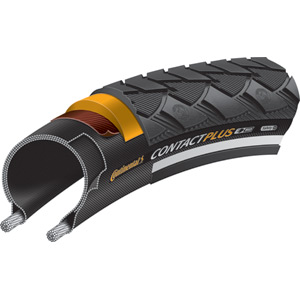 Continental Contact Plus Reflex 700 x 42C Black Tyre black