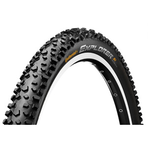 Continental Explorer 16 x 1.75 inch Black Tyre black