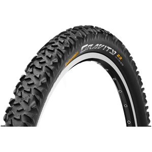 Continental Gravity 26 x 2.3 inch black tyre black