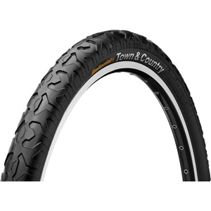 Continental Town and Country 26 x 2.1 inch black tyre black