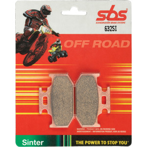 536SI Off-road sintered brake pads