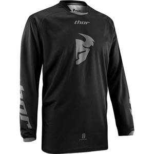 Phase jersey S14 black-out medium
