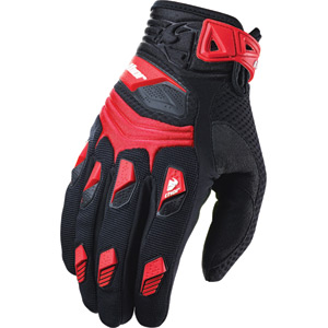 Deflector gloves S14 red X-large