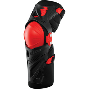 Force XP knee guards S16 black / red large / X-large
