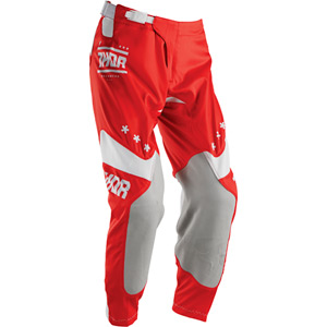 Prime-Fit pant S16 League red / white 38 inch waist