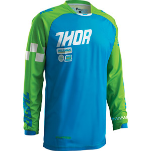 Phase Youth jersey S16 Ramble royal blue / green small