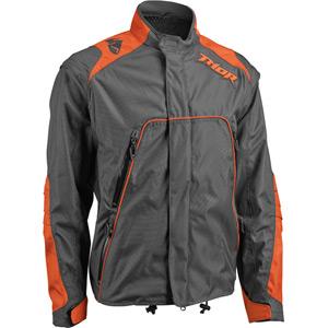 Range Enduro Jacket S16 charcoal / orange XX-large