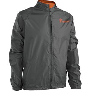 Pack Jacket S16 charcoal / orange large