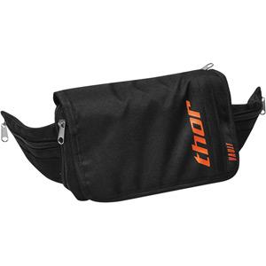 Tech Vault Pack - black / red - compact enduro bum-bag