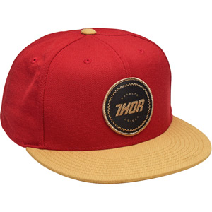 Winners Circle snap-back hat red / curry one-size