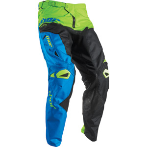 Fuse pant S17 Pinin black / lime 34 inch waist
