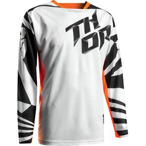 Fuse Air jersey S17 Dazz white / orange X-large