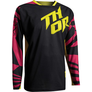 Fuse Air jersey S17 Dazz magenta / yellow X-large