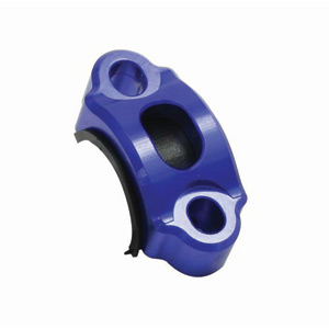 Rotating bar clamp blue