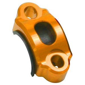 Rotating bar clamp orange