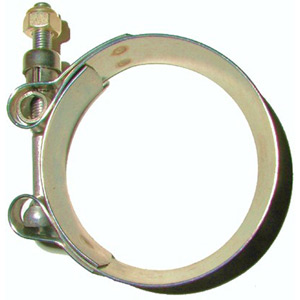 Stainless Exhaust Pipe Clamp 36 - 39mm