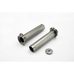 Throttle tube low-friction alloy KXF250/450 04-17, & YZF250 02-11 & YZF450 98-13