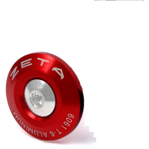 Bar End Plug 29mm 2pcs red