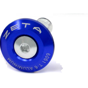 Bar End Plug 29mm 2pcs blue