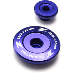 Engine plugs Husqvarna FC / FE 250/350/450 14-17 blue