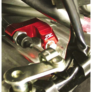 Clutch cable guide CRF450R 09-13