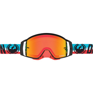 Dragon Goggles NFX2 Shot / Injected Yellow Red Ion