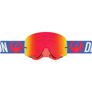 Dragon Goggles NFX Flash Blue / Red Ion