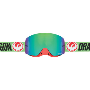 Dragon Goggles NFXs Flash Green / Green Ion