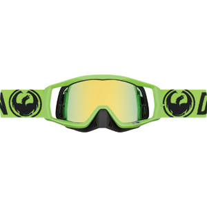 Dragon Goggles VENDETTA Break Green / Smoke Gold